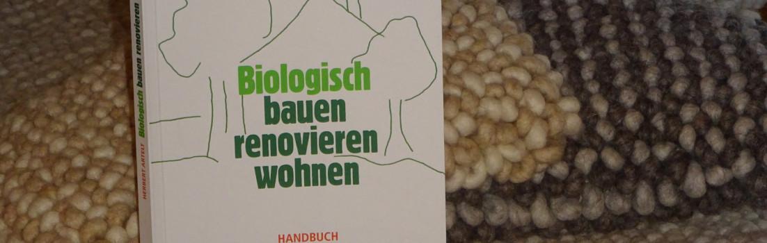 """Buch von Herbert Artelt: """"Biologisch bauen, renovieren und wohnen"""""""