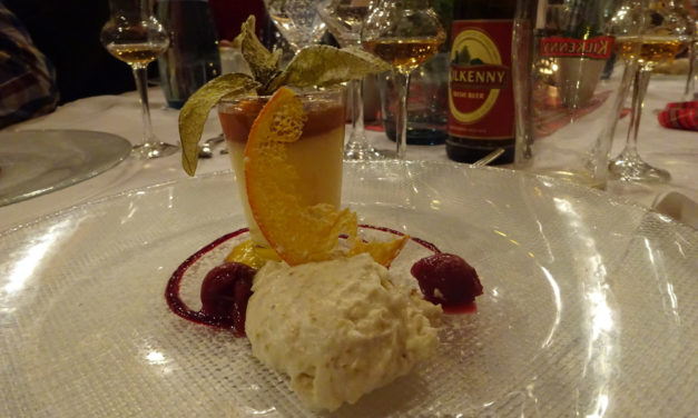 Elaines Heimat auf dem Teller – Haggis meets Whisky im alten Schloß zu Kleedorf