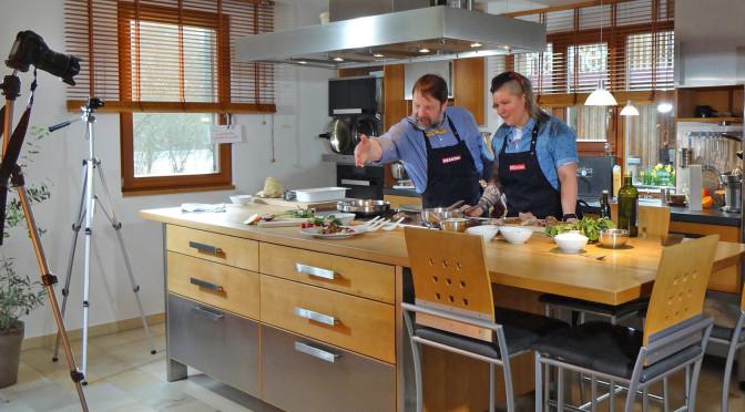 Pressemeldung: Kochvideos aus Unterkrumbach und live auf der Hersbrucker Gewerbeschau