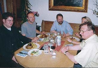 Im Jahr 2000 besprachen Citymanager Johannes Michel, Rainer Wölfel, herwig Danzer, Manuela Silius und Bürgermeister Wolfgang Plattmeier den Cittalsow-Gedanken