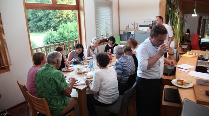 Fischkochkurs Heimat auf´m Teller mit Norbert Meister und Hans-Peter Eberhard