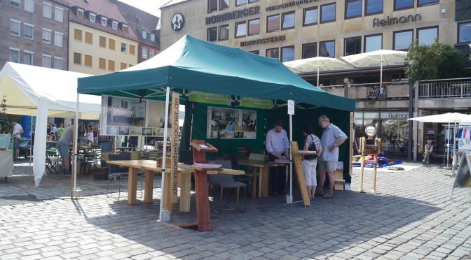 BIOerleben 2015 in Nürnberg: Hitze, Sturm und ganz viel Zeit
