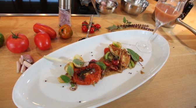 Kocheinrichtung Nr. 6: Tomaten mal 4 als tomatestisches Quartett