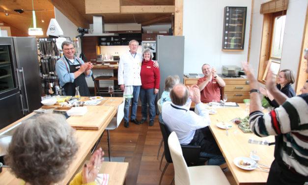 Sous Vide Session am Tag des Schreiners in der Küche