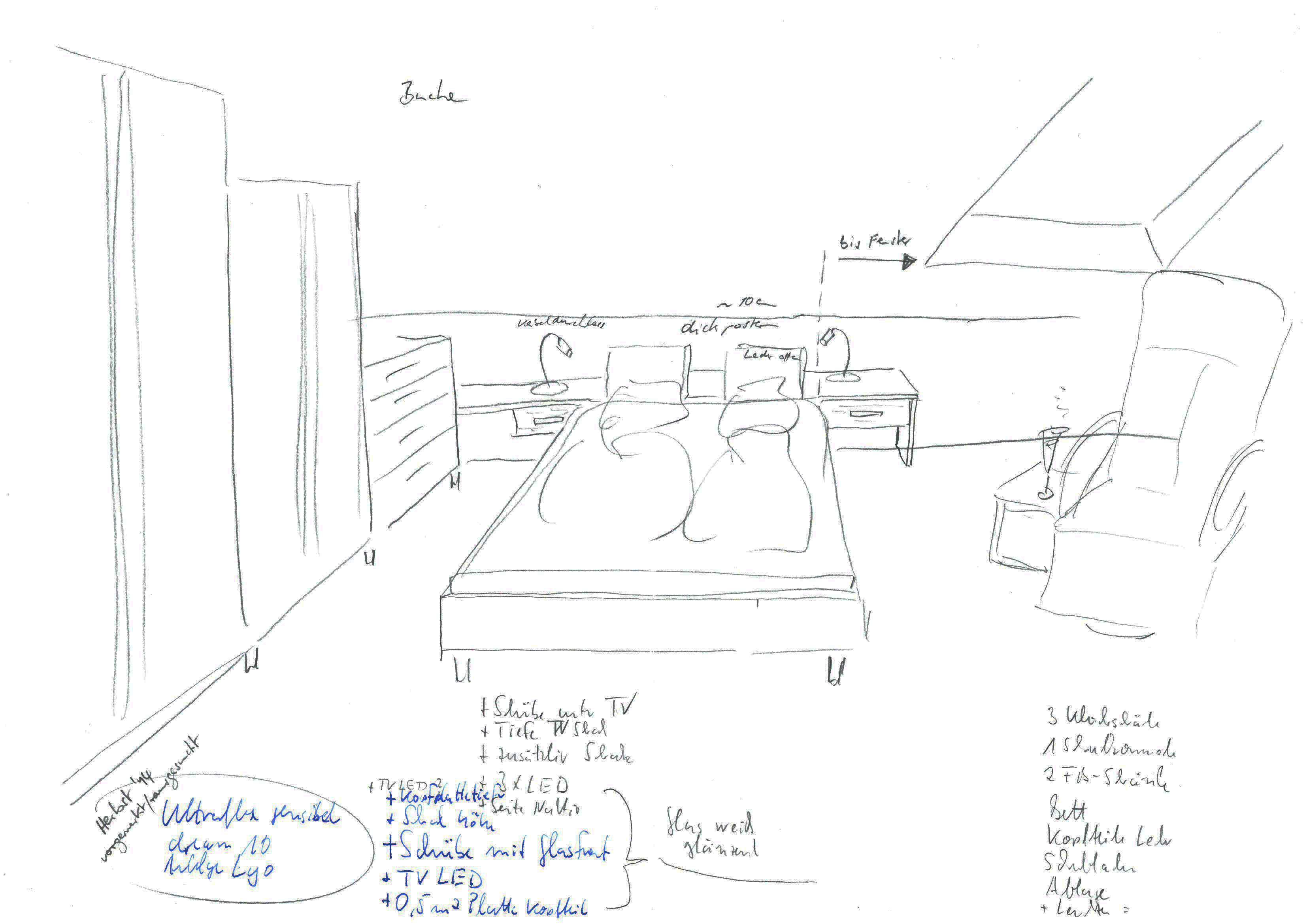 Schlafzimmer Zeichnen ~ Heimatentwurf Inspirationen