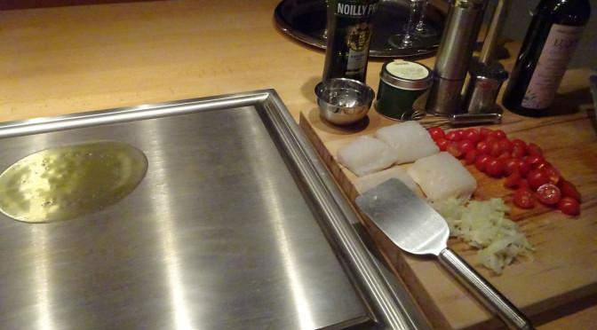 Einfach Kochen Nr. 3: Skrei mit Partytomaten und Kapern