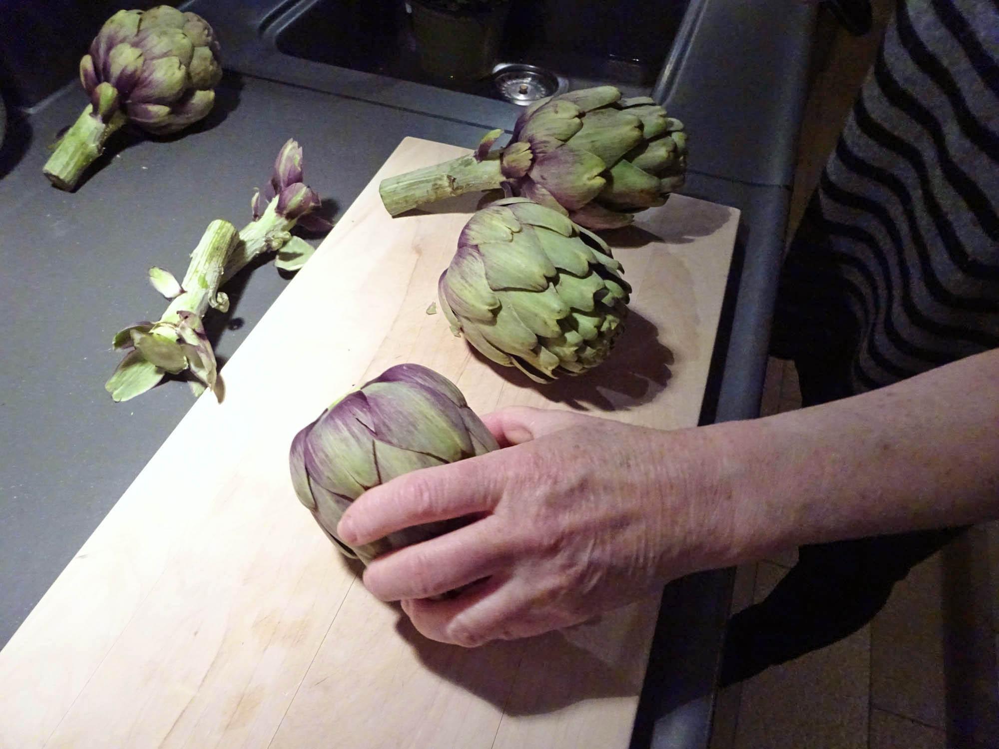Einfach Kochen Nr 5 Artischocken Aus Dem Druckdampfgarer Mit