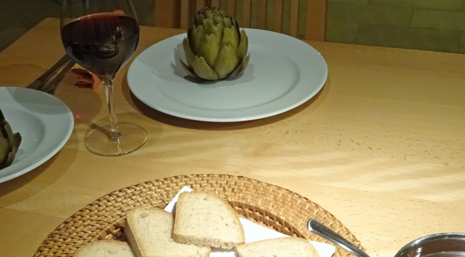 Einfach Kochen Nr. 5: Artischocken aus dem Druckdampfgarer mit Vinaigrette