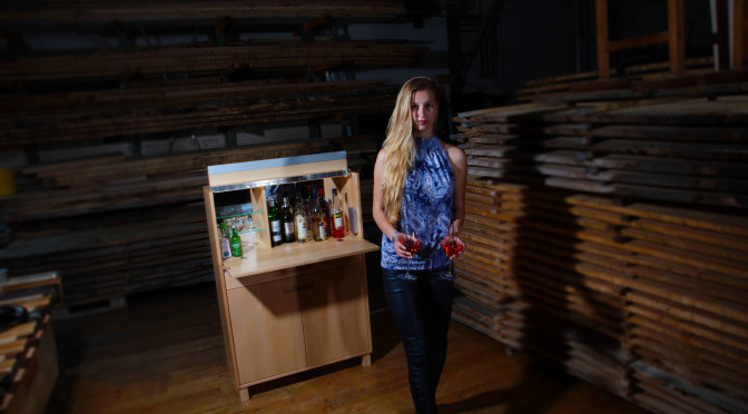 """Barschrank mit """"great Greta"""" und wie Kunden aus ganz Deutschland zu uns finden"""