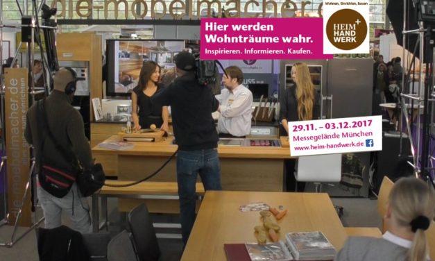 Heim und Handwerk 2017 mit den Massivholzküchen und Küchenshows der Möbelmacher