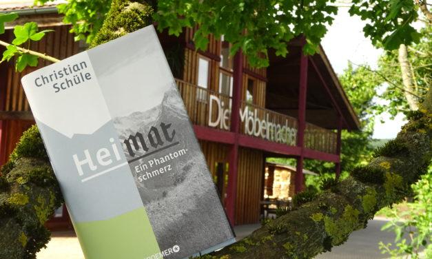 Newsletter 140:  Tag des Schreiners: Lesung zum Thema Heimat, 2 Tage der offenen Tür, 3 Ausstellungsküchen, Heim + Handwerk