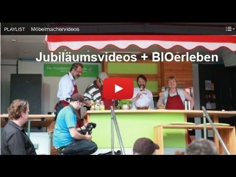 Newsletter Nr. 92: Jubiläumsdank und -videos, Einladung zur BIOerleben, Nussbaumtisch und Mielebackofen