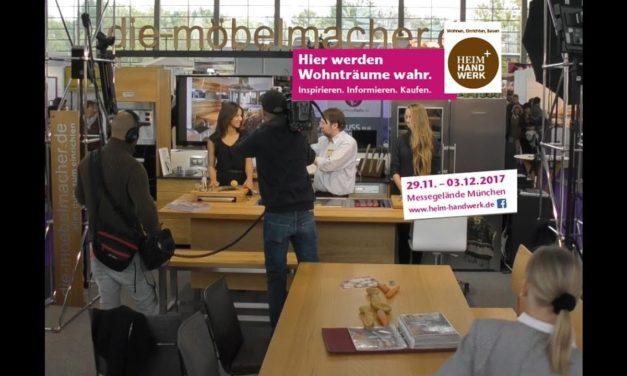 NL 141: Ihre kostenlosen Eintrittskarten für die Heim + Handwerk – Videos von der Lesung und Kochworkshops am Tag des Schreiners – die neue Eichenküche