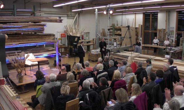 """Tag des Schreiners 2017: Lesung aus dem Buch """"Heimat"""" mit dem Philosophen Christian Schüle"""