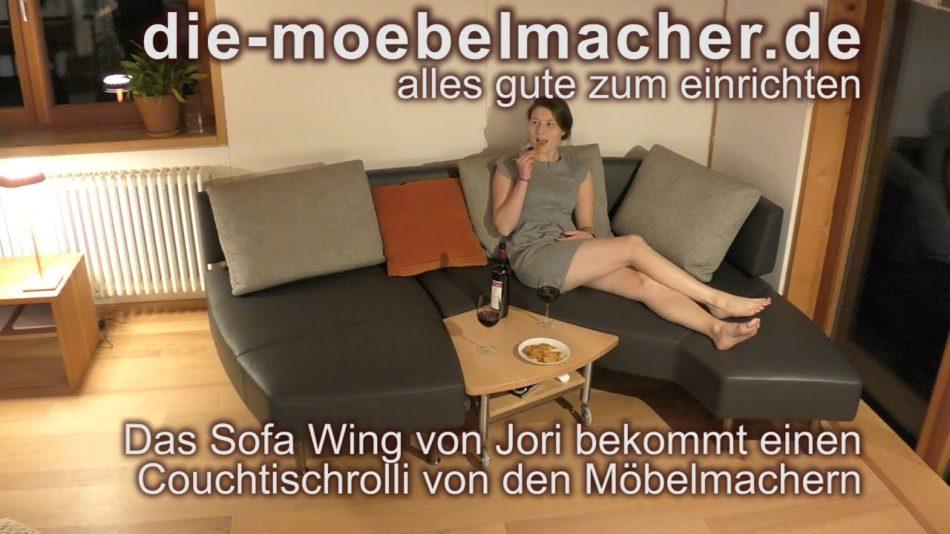 Verwandlungssofa Wing von Jori und der passende Couchtisch auf ...