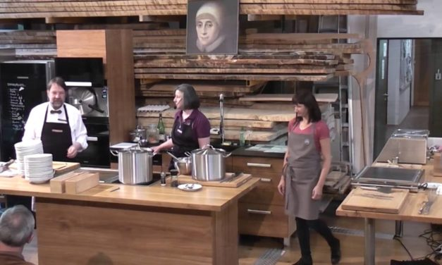 Werkstatt-Tage 2016: Werkstatt-Dinner mit Schwester Regina Werner, Maja Wasa und Mary Ward