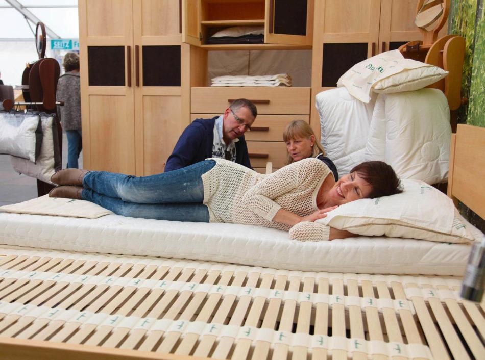 Pro NAtura Bettsystem ist das beste für den gesunden Schlaf