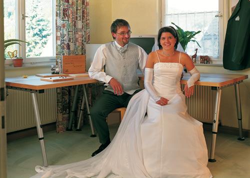 Hochzeitstisch und Hochzeitsmesse am 4. Februar im Grünen Baum Kühnhofen