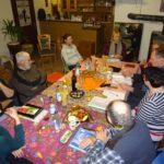 Kulturverbund Nürnberger Land tagt bei Roswitha Maria Farnsworth in Hohenstadt