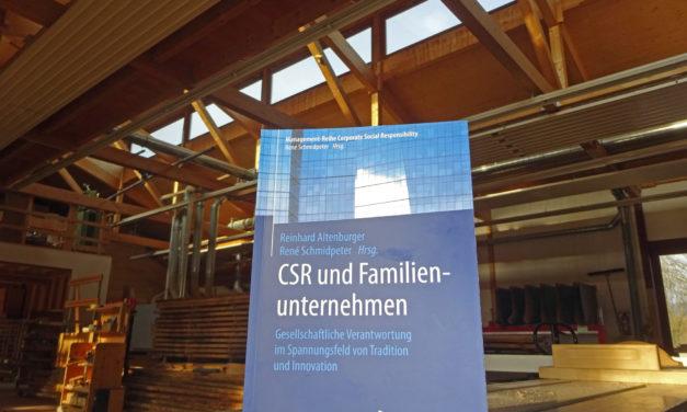 Nachhaltigkeitspioniere im Sittenbachtal: Möbelmacher im Fachbuch über gesellschaftliche Verantwortung neben Miele, Stihl und Osram
