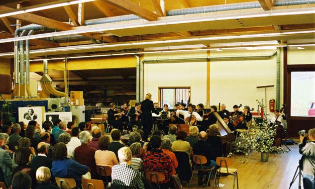 Holz und Heimat: das Jubiläumskonzert des Collegium Musicum Hersbruck bei den 20. Unterkrumbacher Werkstatt-Tagen am 10. Juni