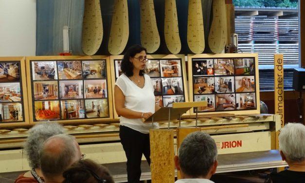 Vernissage mit den Werken von Anna M. Scholz bei den 20. Unterkrumbacher Werkstatt-Tagen
