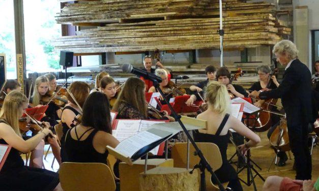 Jubiläumskonzert des Collegium Musicum mit Männerchor bei den Werkstatt-Tagen