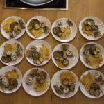 Multikulti-Kochkurs mit Saibling und neuen Kunden