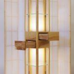 Sophias Säulenmöbel aus Esche als Projekt an der Meisterschule begeistert die Gäste