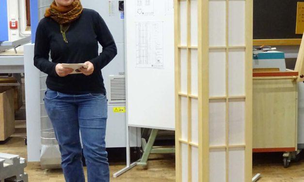 Weltfrauentag: das Meisterinnenstück von Sophia Wagner und Frauen bei den Möbelmachern