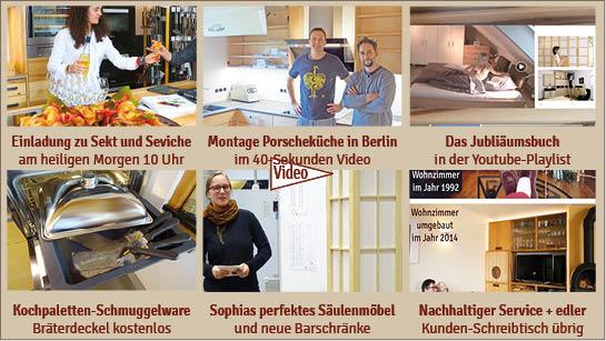 NL 153: Sekt und Seviche am heiligen Morgen – Küchenmontage Berlin – Schmuggelware aus Paris- nachhaltiger Service