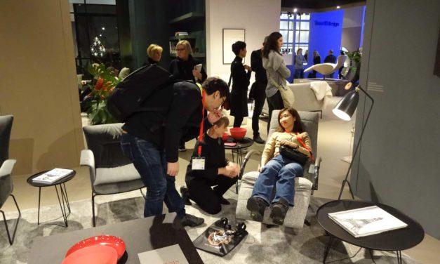 Möbelmesse IMM 2019 Teil 2: Kuriositäten vom Kühlschrank bis zum Jori-Stand