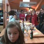 Unsere Gäste bestimmen per Punktabfrage die Unterkrumbacher Kochworkshops