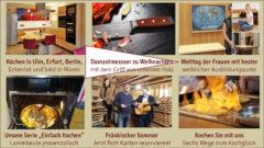 Newsletter 155: Neue Massivholzküchen, einfach Kochen, Weltfrauentag und der Damaszener Messer