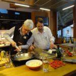 Kochworkshop im Mai anlässlich der Abholung des Weinflaschen-Schlüsselaufhängers