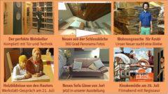 Newsletter 157: Weinkeller;  Wohnungssuche; Werkstatt-Tage; Wolodymyrs Zepter?