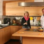 Die besten Kochinseln in der Massivholzküche des Reihenhauses