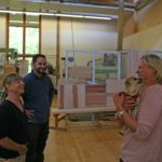 Die neue Massivholzküche fürs Tierheim Hersbruck und der Dank an die Spender
