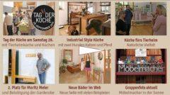 Newsletter 159: Sa. 28. Sep. Tag der Küche aus Massivholz, tierische Küchen, Bäder und Geschichten