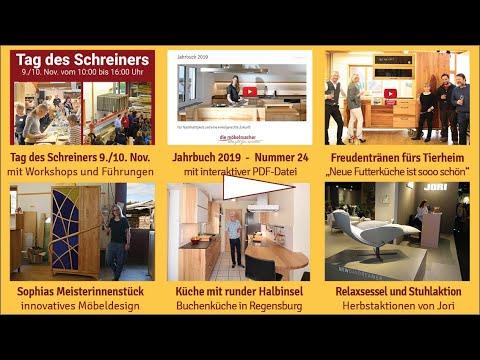 Newsletter 160: Tag des Schreiners am Wochenende, Kochworkshop, Jahrbuch, Jori Relax- und Stuhlaktion