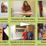 Newsletter 161: Wimmelbilderfolg, neues Eichenbüro, Küchen im Kunstmuseum, Rohe Klöße und Fischstäbchen, Damaszener Messer