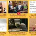 Newsletter 162: Thüringer Störche und Küchen, Rezepte online, Bleistiftgeburtstag, Relaxsessel-Designpreis und Küche geschenkt