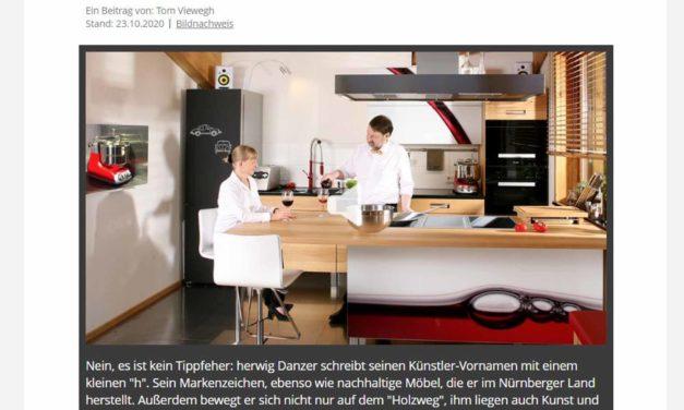 """Eine ganze Stunde Möbelmacher im Bayerischen Rundfunk: """"Habe die Ehre"""" als Podcast hier zum Nachhören"""