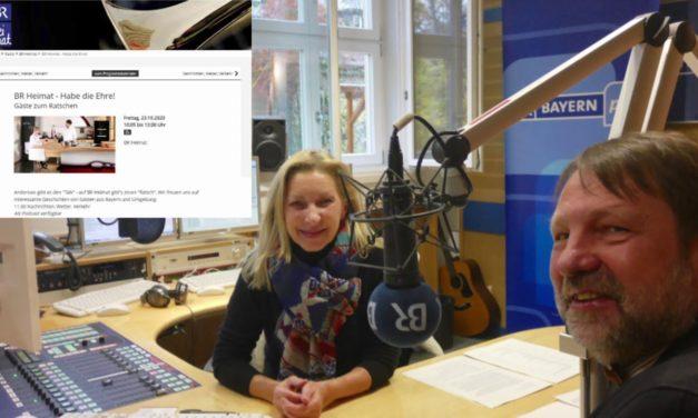 Newsletter 170: Freitag 10-12: 2 Stunden im BR-Radio Heimat, Achtung Baustelle, Nachhaltigkeitspreis der Lammsbräu, Messer, Küchenplanung, Garderobe und Rezepte