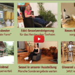 Newsletter 178:  Innungsbester, Sesselversteigerung fürs Tierheim, Bett Paris, Koteletts am Tepan, Jobrad, Olympia, Fuchsauweg